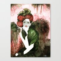 Madame Canvas Print