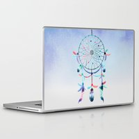 dream catcher Laptop & iPad Skins featuring Dream Catcher by General Design Studio