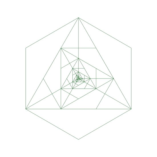 #243 Antenna – Geometry Daily Art Print