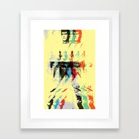 FPJ Mello Yellow Framed Art Print
