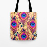 Feather Frenzy Tote Bag