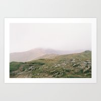 Misty Mountains II Art Print