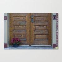 Doors 1 Canvas Print