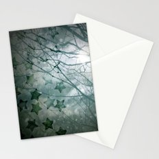 Falling Into Night Stationery Cards