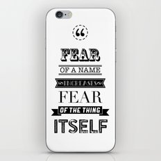 hp quotes: Philosophers Stone iPhone & iPod Skin