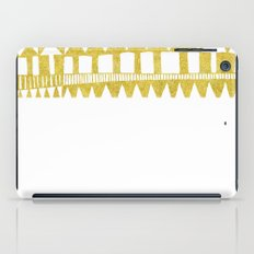 Golden Doodle abstract iPad Case