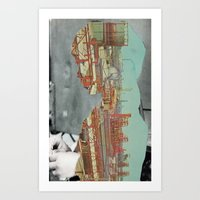 Postcard From Home Art Print