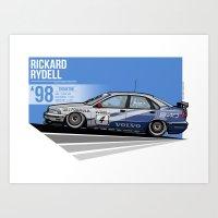 Rickard Rydell - 1998 Th… Art Print