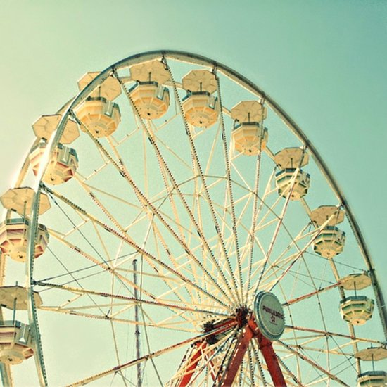 Ferris Wheel Magic Art Print