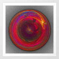 The Circle Of Forever Art Print