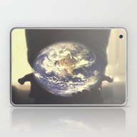 Laptop & iPad Skin featuring World In My Hands by Dzonatans Jansevics
