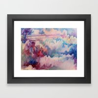 Somewhere Over The Rainb… Framed Art Print