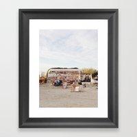 Slab City Art Framed Art Print