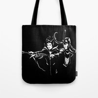 Dark Fiction Tote Bag