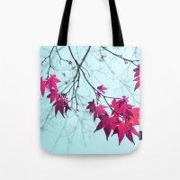Maple Tree Stars Tote Bag
