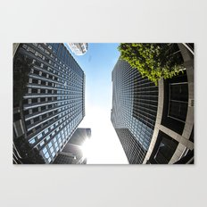 FISHY DTLA Canvas Print