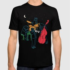 Animals plays Jazz Mens Fitted Tee SMALL Black