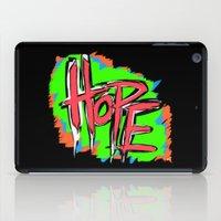 Hope (retro neon 80's style) iPad Case