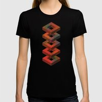 Stack Womens Fitted Tee Black SMALL