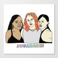 ORGINAL 'Sugababes' Canvas Print