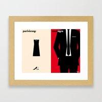 L'allure Framed Art Print