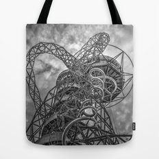 The Arcelormittal Orbit Monochrome Tote Bag
