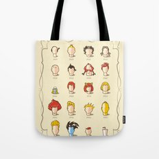 The Marvelous Cartoon Wigs Museum Tote Bag
