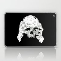 Skull In Hands Laptop & iPad Skin