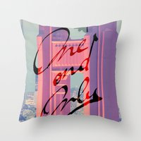 One And Only - San Franc… Throw Pillow