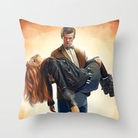 Asylum Of The Daleks - D… Throw Pillow
