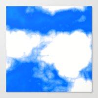 Blue Cloud Canvas Print