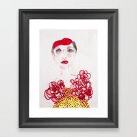 Cameo #3 Framed Art Print