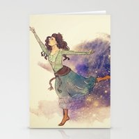 Dance on my own feet Stationery Cards