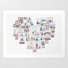 Find Heart Art Print