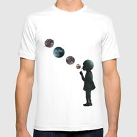 Cosmonaut  Mens Fitted Tee White SMALL