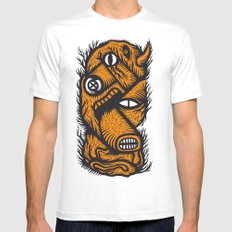 Le mangeur - the print! Mens Fitted Tee White SMALL