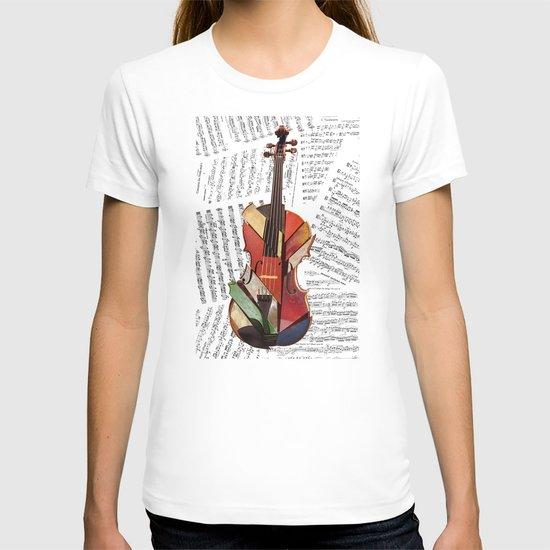 piece by piece T-shirt