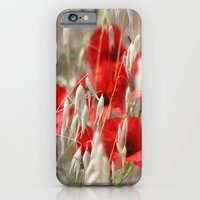iPhone & iPod Case featuring Poppies  - JUSTART © by JUSTART