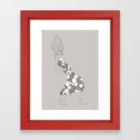 Japanese Couture Fashion… Framed Art Print