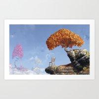 Leaf Peepers Art Print