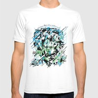 Street Diamond Mens Fitted Tee White SMALL
