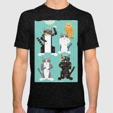 Cats I have known Mens Fitted Tee Tri-Black SMALL