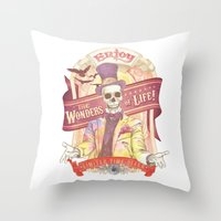 The Greatest Spectacle E… Throw Pillow