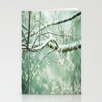bright branches Stationery Cards