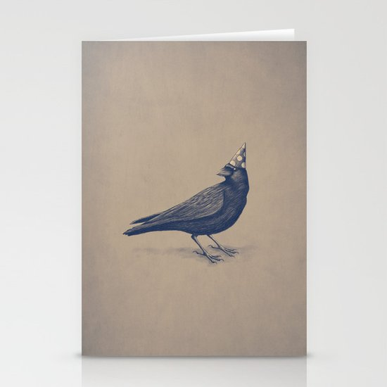 Rocking Raven Stationery Card