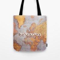 Adventure Map Tote Bag