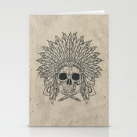 The Dead Chief Stationery Cards