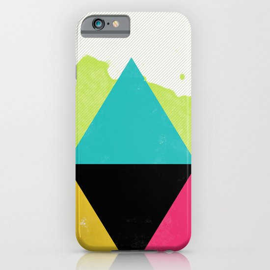 NEON TRIANGULAR iPhone & iPod Case
