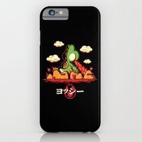 iPhone & iPod Case featuring Yoshzilla by Mike Handy Art