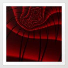 Fractal Lashes Art Print